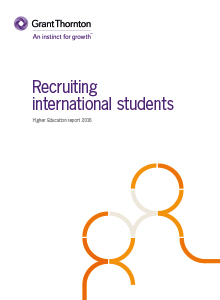 Recruiting international students report Cover image